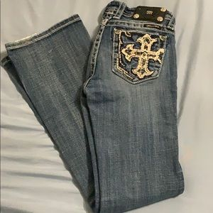 Girls bootcut Miss Me Jeans